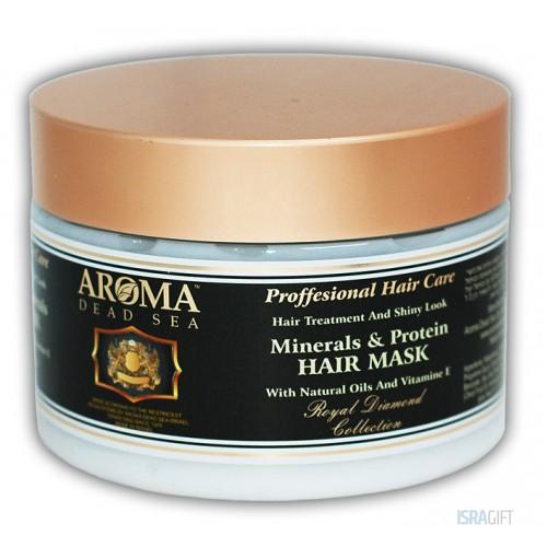 Минеральная маска для волос с витамином Е и протеином